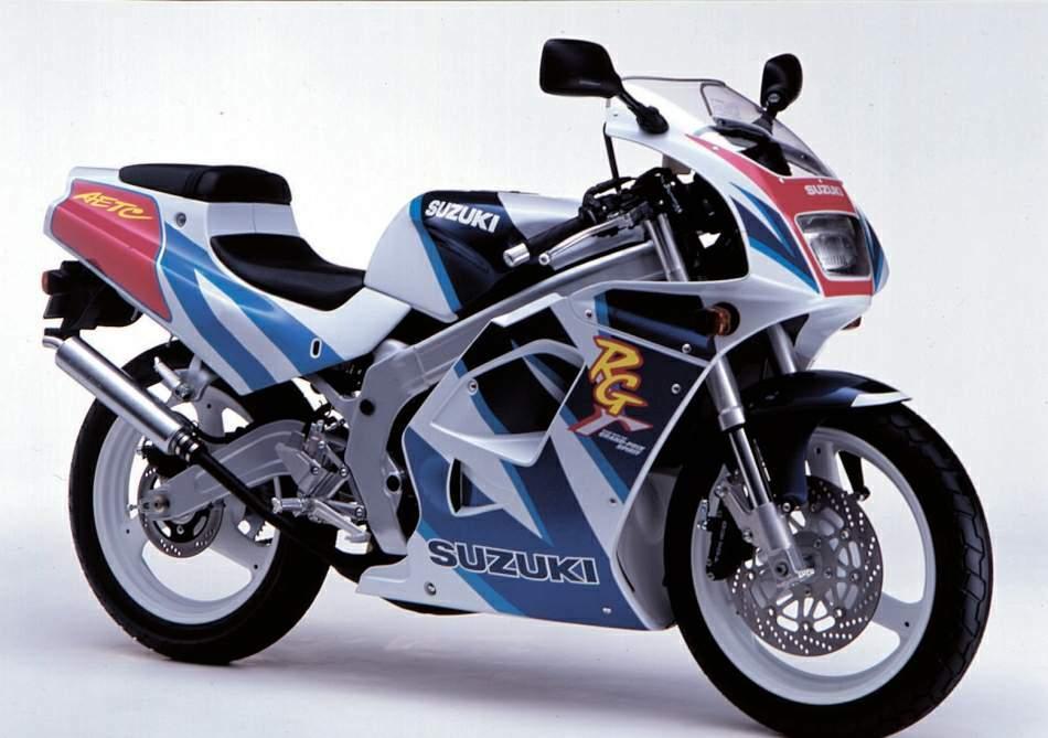 Suzuki RG125F Gamma technical specifications